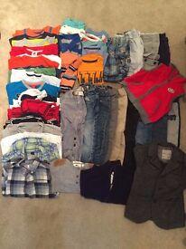 LAST CHANCE - 2yr boy bundle - mainly Gap & Zara - OVER 40 ITEMS