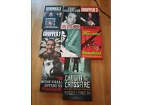 Various gangland books