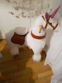 Ride on Unicorn Pony Cycle, PonyCycle Ride-On Animals - Unicorn - New Boxed