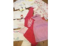 3-6 Months Baby Girls Bundle. Dress' next Vests and outfits
