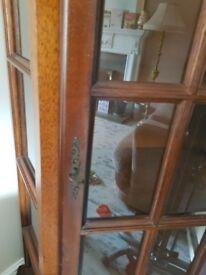 Wooden living room / dining room corner unit