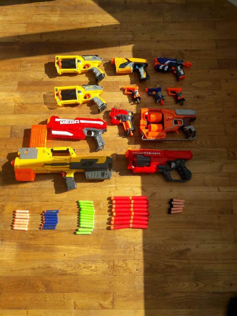 Powerful Nerf Gun Bundle + 48x bullets