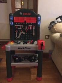 bosch workstation and tool belt