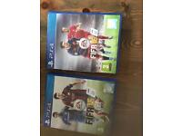 PS4 Fifa 15 and Fifa 16 games