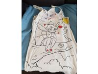 Brand new with tags Ladies Disney tinkerbell river island longline vest top size 10