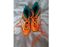 Adidas football boots size 3 in excellent condition.smoke free home