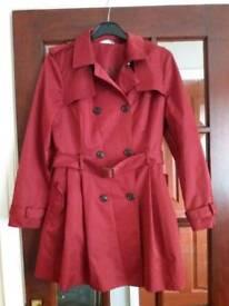 Red herring rain coat size 16 (womens)