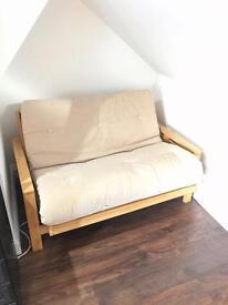 2 seat futon sofa bed (Detroit / The Futon Company)