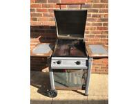 Double Burner Gas BBQ