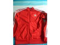 Boys Adidas Zipper