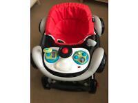 Babys car rock seat