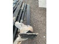 Metal post heavy duty