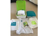 Cheeky Wipes washable baby wipes system