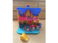 Doc McStuffins Clinic Doll House with Doll + Figures - Excellent condition!!!