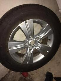 Alloy wheel full size 225 60 r17