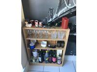 Bar storage, Dimensions- 84x65x16cms