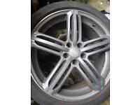 Audi a5 a4 a3 alloys 19 inch