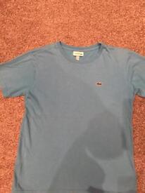 Boys Lacoste tshirt