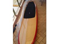 TWO Paddle boards ( bamboo veneer )