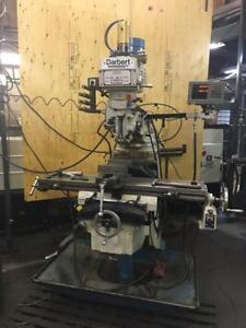 Darbert Knee Type Milling Machine