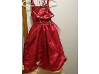 Red Dress with Bag - Age 5-7 yrs – Unused
