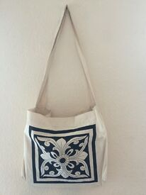 Cotton, handloom bags for sale!