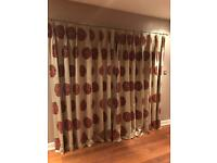 Curtains and matching blind