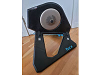 Tacx NEO 2T Smart Trainer (T2875) bike trainer with Ultegra cassette installed