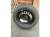 Spare wheel for Vauxhall corsa D