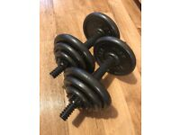 Dumbbells Weight 8.5kg two sets