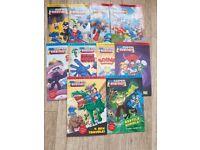 10 brand new first reader DC books