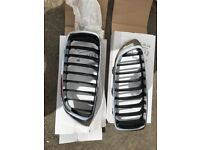 Bmw 4 series F32 F33 Genuine Front grilles Crome M sport
