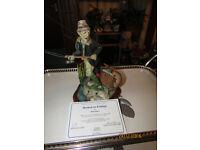 Hooked On Fishing - Danbury Mint Figure - Rare - NEW PRICE