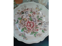 Two Royal Doulton Dinner Plates Monmouth- D6165