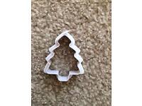 Christmas tree cutter 50p