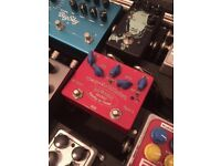 Cusack tap a whirl tap tempo tremolo pedal guitar