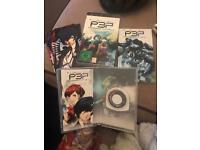 Rare Persona 3 PSP collectors edition