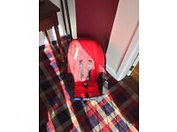 BABY RED CAR SEAT