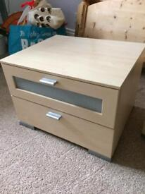 Pair of barker and stonehouse bedside tables