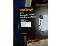 Unused convector heater