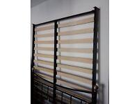 Double metal bedframe (Sainsburys) with free mattress £80