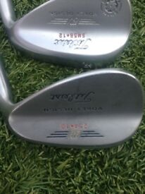 TITLEIST Vokey pair of Wedges 54 and 58 Degrees