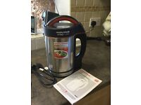 Murphy Richards electric soup maker, hardly used