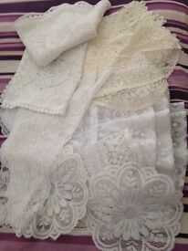 Wedding lace accessories/tablecloth