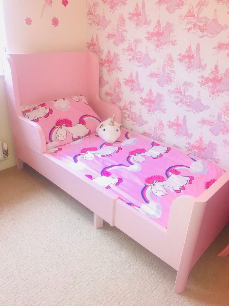 Extendable Ikea Busunge Toddler Bed