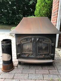 Villager model A woodburner stove