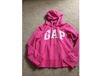 Gap hoodie Pink girls age 11
