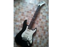 electric guitar Squier by Fender project