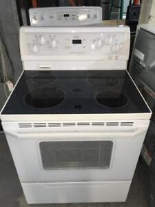201- Four / Cuisiniere Blanche WHIRLPOOL White Stove Oven