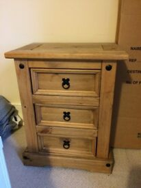 Chest of Drawers - Solid Wood Small